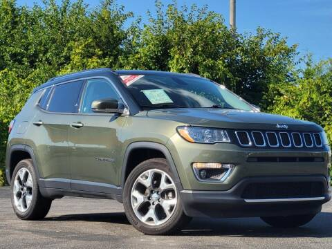 2018 Jeep Compass for sale at BuyRight Auto in Greensburg IN