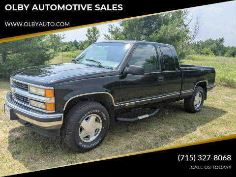 1997 Chevrolet C/K 1500 Series for sale at OLBY AUTOMOTIVE SALES in Frederic WI