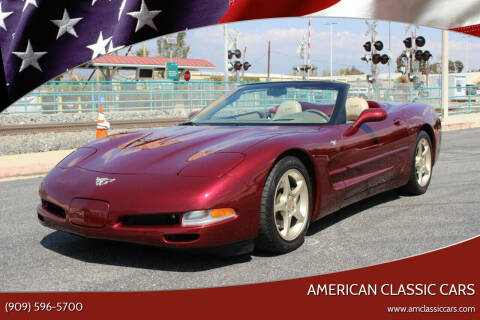 2003 Chevrolet Corvette for sale at American Classic Cars in La Verne CA