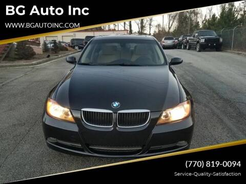 2008 BMW 3 Series for sale at BG Auto Inc in Lithia Springs GA