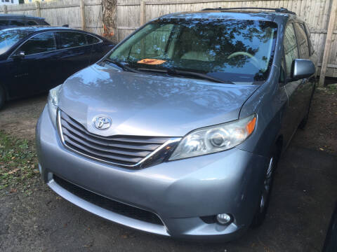 2013 Toyota Sienna for sale at MELILLO MOTORS INC in North Haven CT