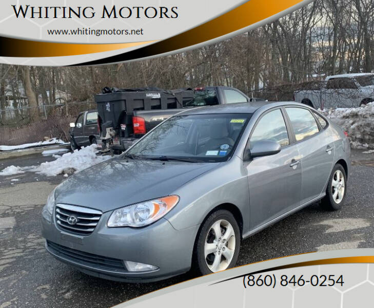 2010 Hyundai Elantra for sale at Whiting Motors in Plainville CT