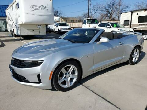 2019 Chevrolet Camaro for sale at Kell Auto Sales, Inc - Grace Street in Wichita Falls TX