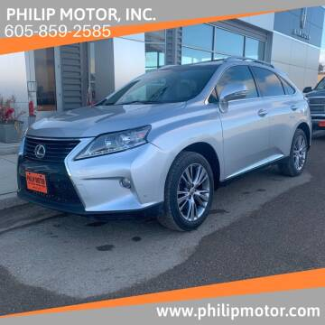 2014 Lexus RX 350 for sale at Philip Motor Inc in Philip SD