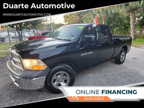 2012 RAM Ram Pickup 1500 for sale at Duarte Automotive in Jacksonville FL