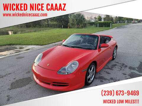 2001 Porsche 911 for sale at WICKED NICE CAAAZ in Cape Coral FL