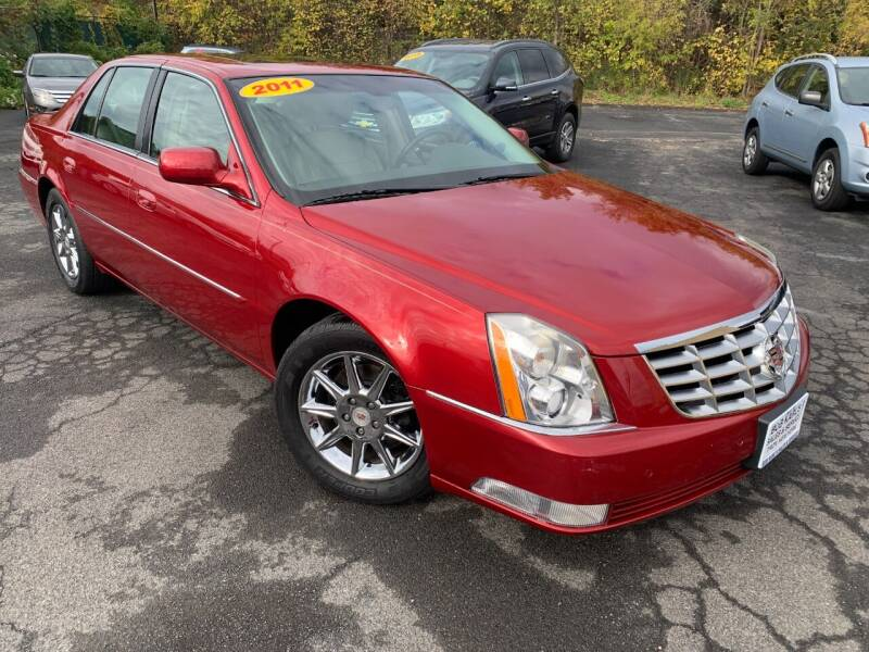 2011 Cadillac DTS for sale at Bob Karl's Sales & Service in Troy NY
