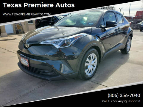 2019 Toyota C-HR for sale at Texas Premiere Autos in Amarillo TX