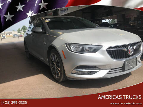 2018 Buick Regal Sportback for sale at Americas Trucks in Jones OK