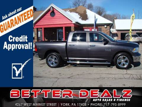 2016 RAM Ram Pickup 1500 for sale at Better Dealz Auto Sales & Finance in York PA