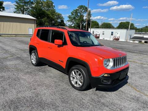 2015 Jeep Renegade for sale at Jackie's Car Shop in Emigsville PA