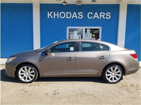 2011 Buick LaCrosse for sale at Khodas Cars in Gilroy CA
