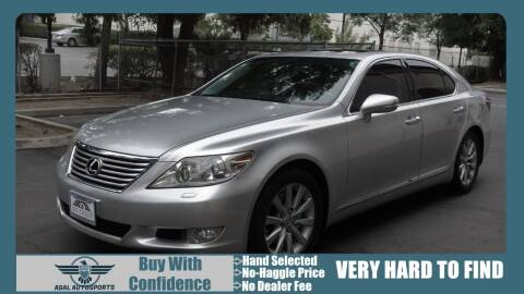2011 Lexus LS 460 for sale at ASAL AUTOSPORTS in Corona CA