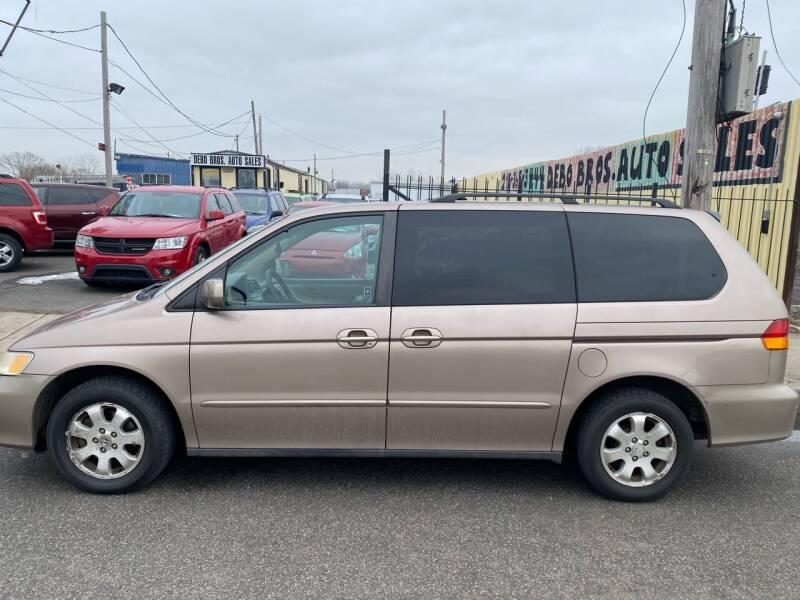 2003 Honda Odyssey for sale at Debo Bros Auto Sales in Philadelphia PA