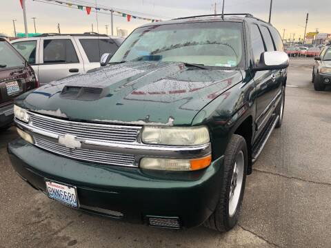 2002 Chevrolet Suburban for sale at TTT Auto Sales in Spokane WA