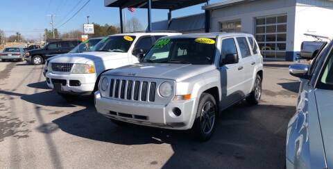 2008 Jeep Patriot for sale at Choice Auto Sales LLC - Buy Here Pay Here in White House TN