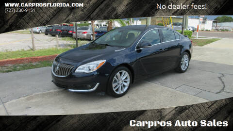 2015 Buick Regal for sale at Carpros Auto Sales in Largo FL