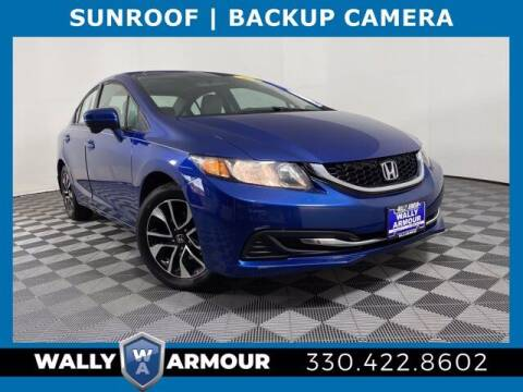 2015 Honda Civic for sale at Wally Armour Chrysler Dodge Jeep Ram in Alliance OH