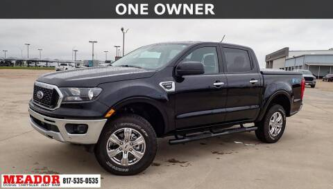 2021 Ford Ranger for sale at Meador Dodge Chrysler Jeep RAM in Fort Worth TX