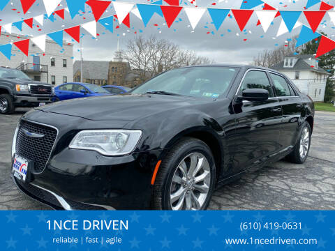 2018 Chrysler 300 for sale at 1NCE DRIVEN in Easton PA