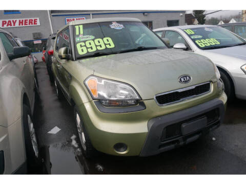 2011 Kia Soul for sale at M & R Auto Sales INC. in North Plainfield NJ