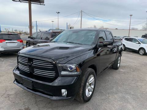 2014 RAM Ram Pickup 1500 for sale at Superior Used Cars LLC in Claremore OK