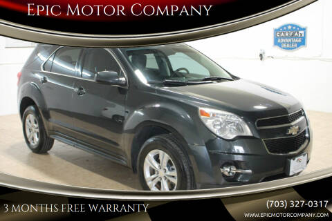 2014 Chevrolet Equinox for sale at Epic Motor Company in Chantilly VA