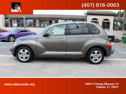 2001 Chrysler PT Cruiser for sale at Ride On Auto in Orlando FL