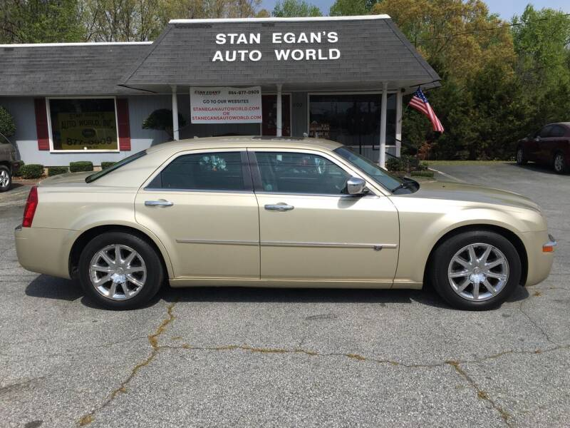 2010 Chrysler 300 for sale at STAN EGAN'S AUTO WORLD, INC. in Greer SC