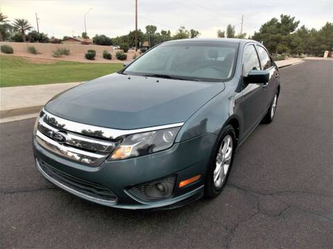 2012 Ford Fusion for sale at Allstate Auto Sales in Mesa AZ