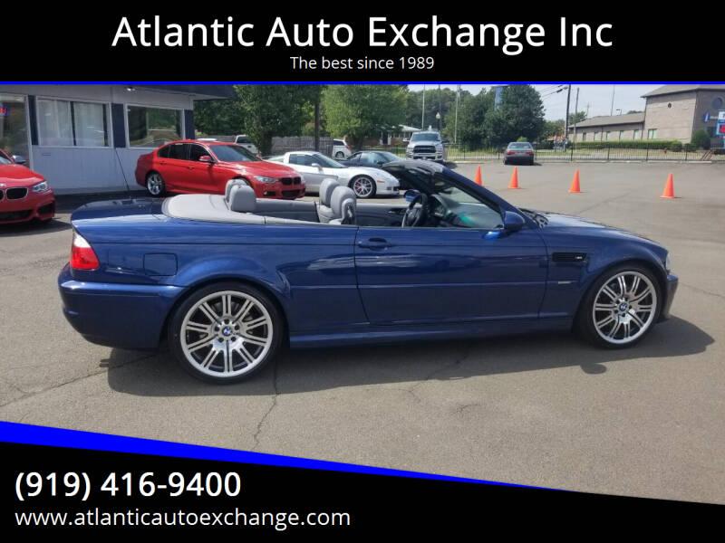 2004 BMW M3 for sale at Atlantic Auto Exchange Inc in Durham NC