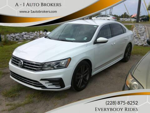2016 Volkswagen Passat for sale at A - 1 Auto Brokers in Ocean Springs MS