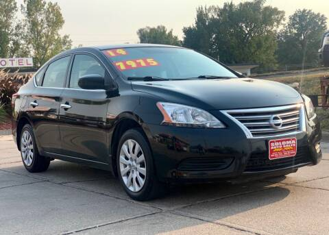 2014 Nissan Sentra for sale at SOLOMA AUTO SALES in Grand Island NE