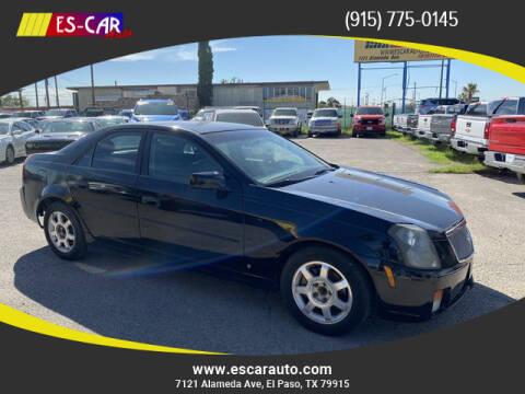 2007 Cadillac CTS for sale at Escar Auto in El Paso TX