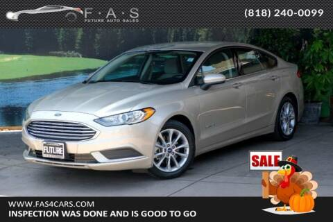 2017 Ford Fusion Hybrid for sale at Best Car Buy in Glendale CA