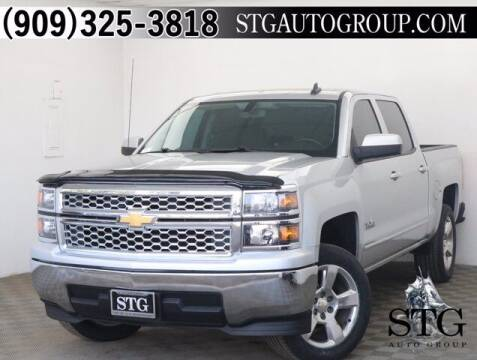2015 Chevrolet Silverado 1500 for sale at STG Auto Group in Montclair CA
