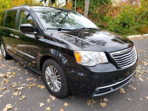 2013 Chrysler Town and Country for sale at KLC AUTO SALES in Agawam MA