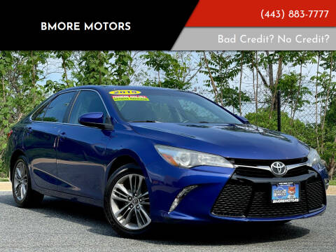 2015 Toyota Camry for sale at Bmore Motors in Baltimore MD