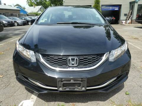 2015 Honda Civic for sale at Wheels and Deals in Springfield MA