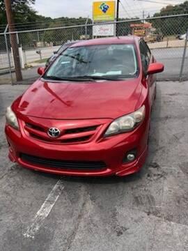 2011 Toyota Corolla for sale at LAKE CITY AUTO SALES - Jonesboro in Morrow GA