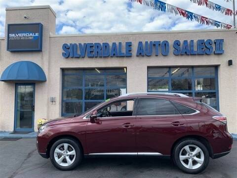 2014 Lexus RX 350 for sale at Silverdale Auto Sales II in Sellersville PA