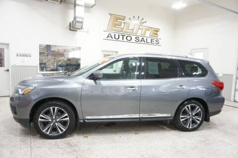 2017 Nissan Pathfinder for sale at Elite Auto Sales in Ammon ID