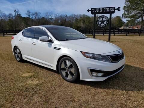 2012 Kia Optima Hybrid for sale at Bratton Automotive Inc in Phenix City AL