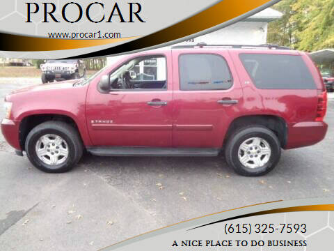 2007 Chevrolet Tahoe for sale at PROCAR in Portland TN