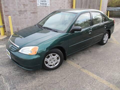 2001 Honda Civic for sale at 5 Stars Auto Service and Sales in Chicago IL