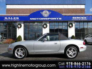 2004 Mazda MX-5 Miata for sale at Highline Group Motorsports in Lowell MA