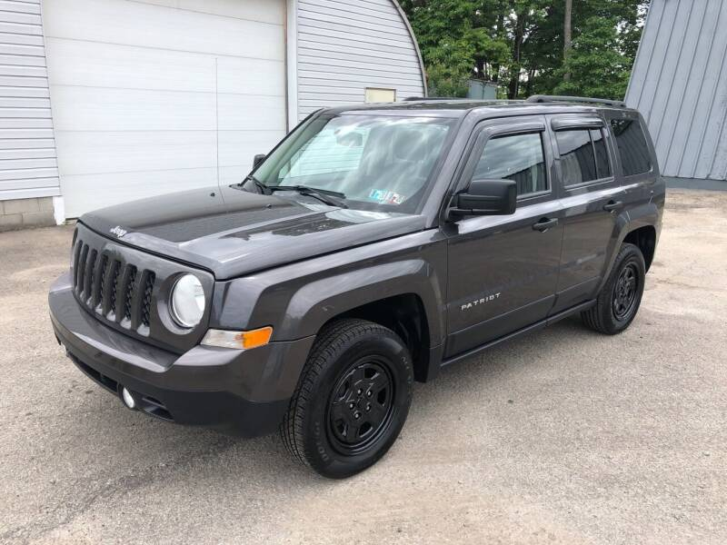 2014 Jeep Patriot for sale at THATCHER AUTO SALES in Export PA