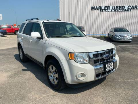 2009 Ford Escape for sale at MARLER USED CARS in Gainesville TX