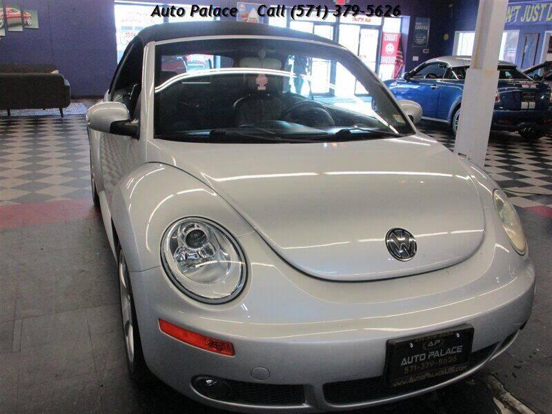2006 Volkswagen New Beetle Convertible for sale in Manassas, VA