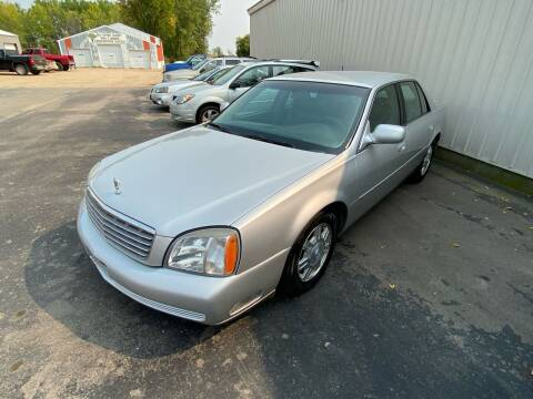 2003 Cadillac DeVille for sale at Hill Motors in Ortonville MN